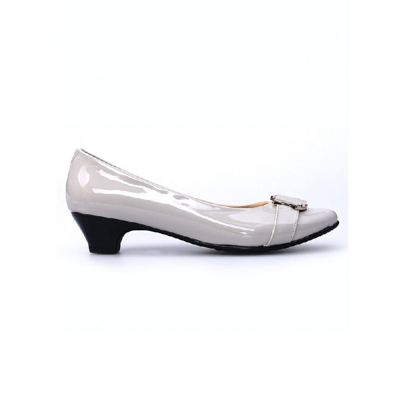 Ghirardelli Heels Beatrix Grey