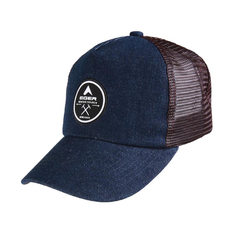 Eiger Denim Truck Caps - Navy