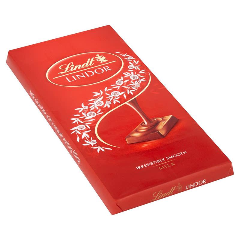 Lindt Lindor Single Milk Chocolate 100g