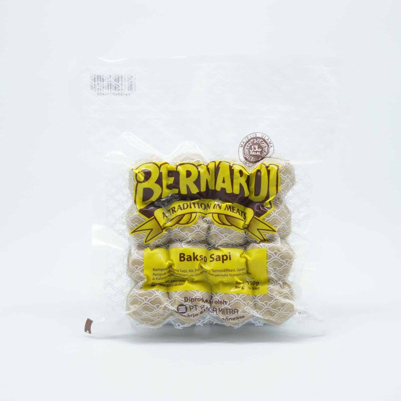 Bernardi Bakso Sapi 150 Gr isi 16 Pcs