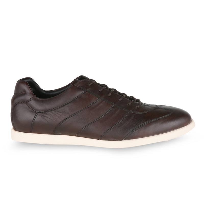 Ftale Salvador Sepatu Pria - Cokelat Tua