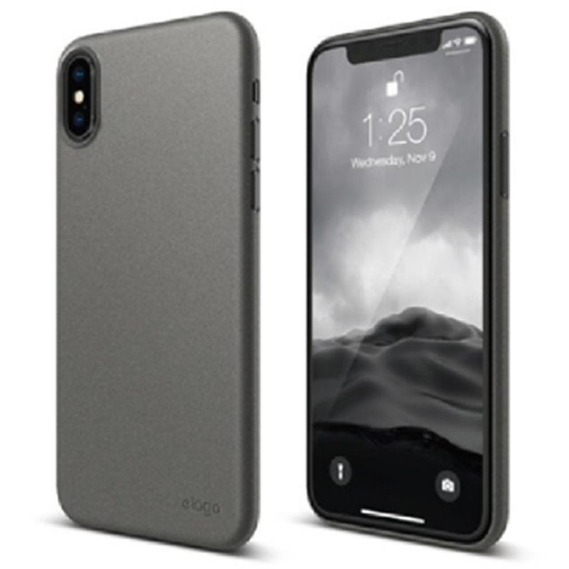 Elago iPhone X Case Inner Core Slim Case - Dark Gray