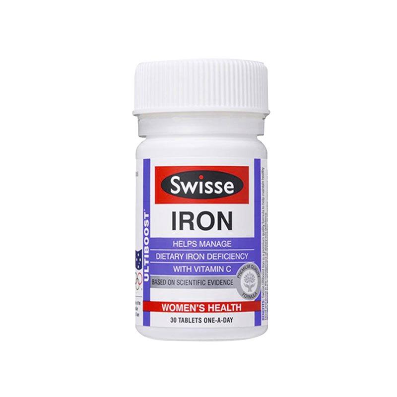 Swisse Ultiboost Iron 30 Tabs