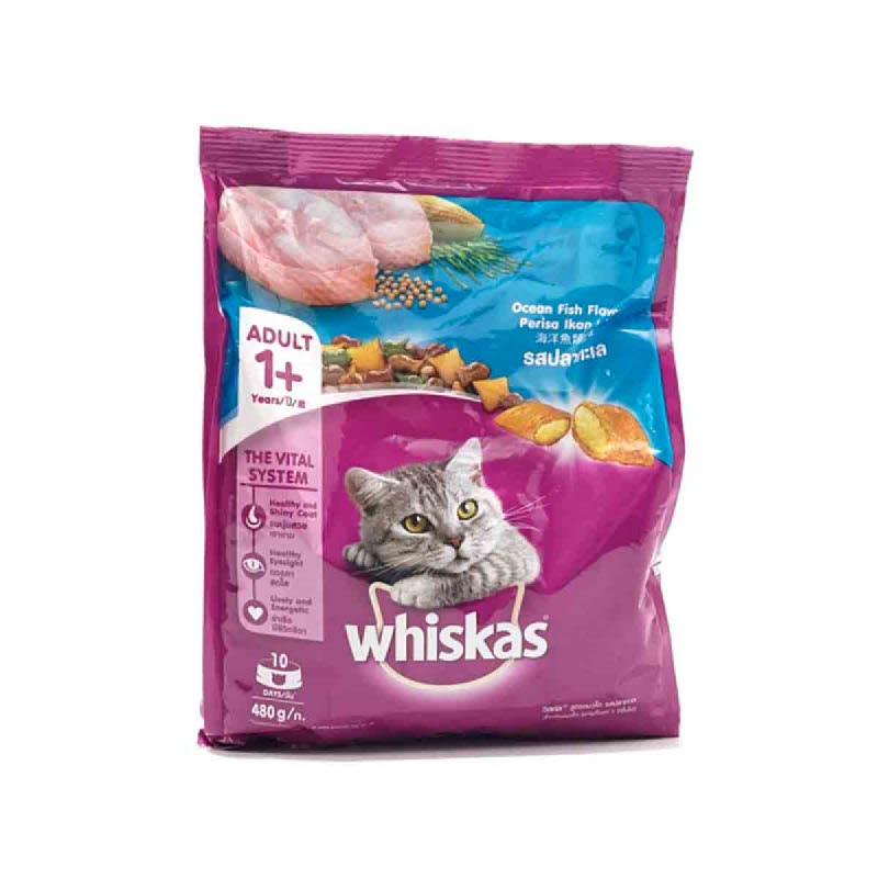 Whiskas Pocket O Fish 480 Gr