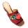 Apple Green Germania Sandals Heels  Maroon