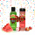 Tutti Frutti (Lychee & Rambutan Creamy Wash Scrub 250 ml + Melon & Watermelon Body Scrub 100 ml)