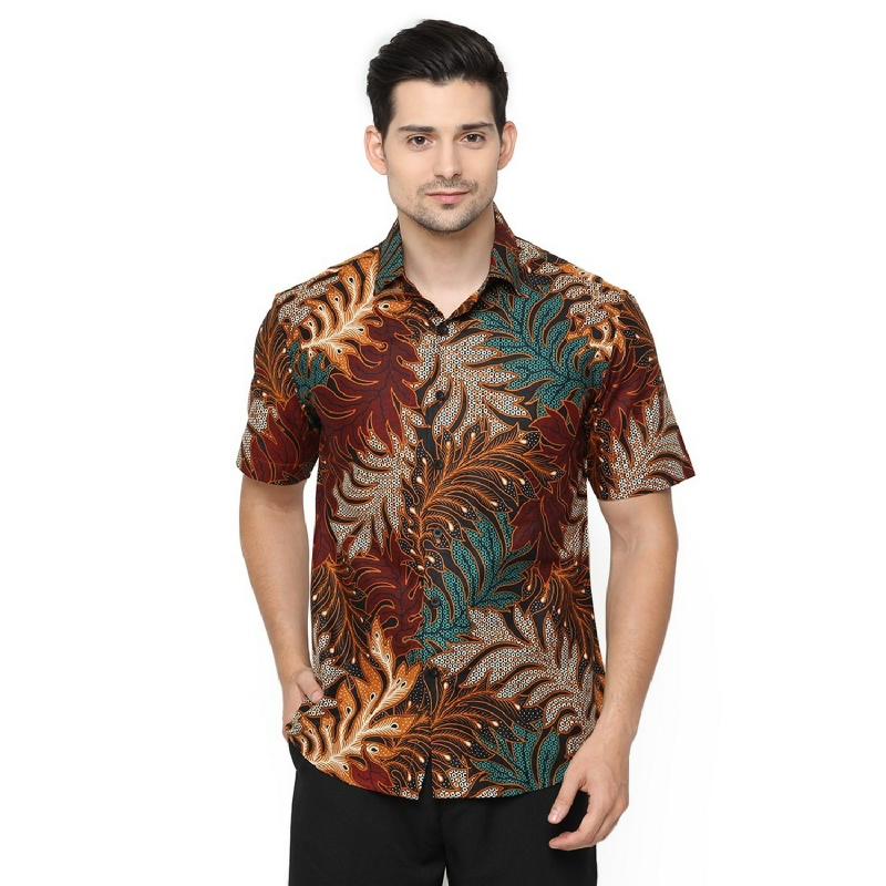 Agrapana Danendra Slim Fit Kemeja Batik Print