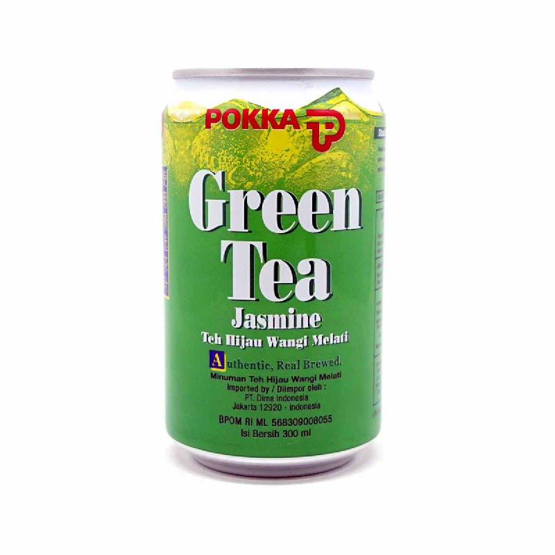 Pokka Green Tea Jas Can300Ml