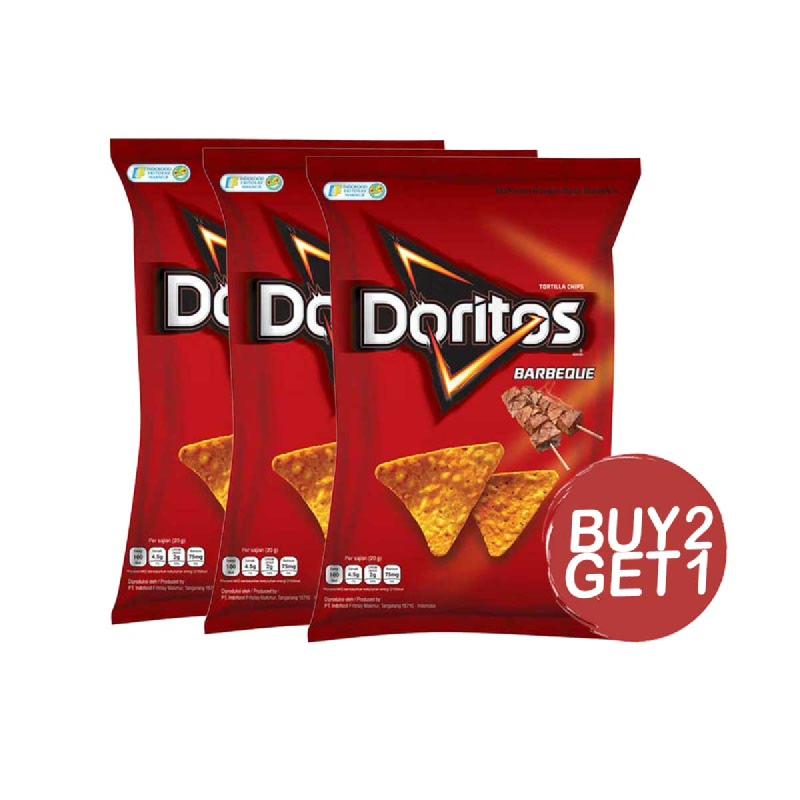 Doritos Snack Barbeque 160 Gr (Buy 2 Get 1)