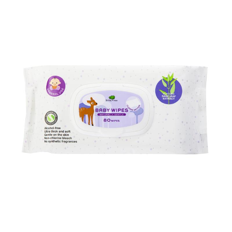 Baby Wipes General Use Tissue Basah Anak Bayi Balita 80pcs