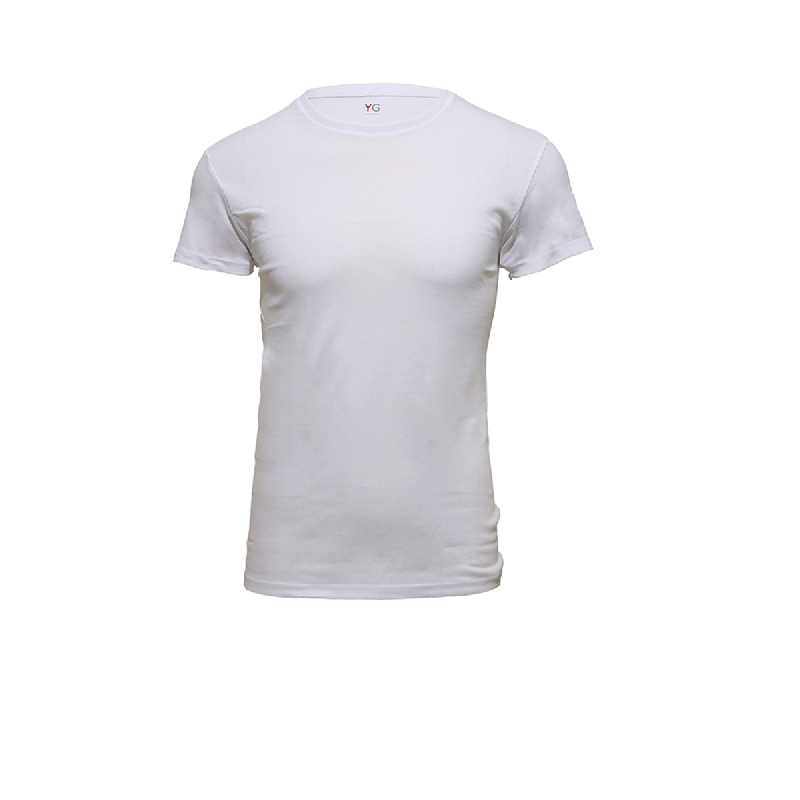 Gunze Crew Neck Men Tshirts YV0013 White