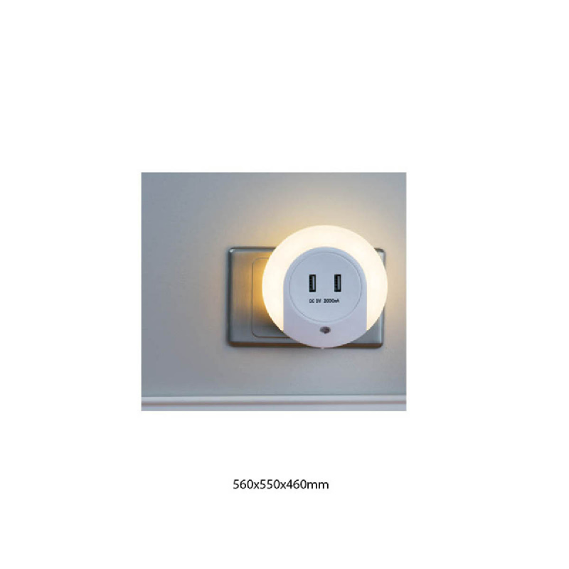L-Living Led Night Light Usd 2.1A G