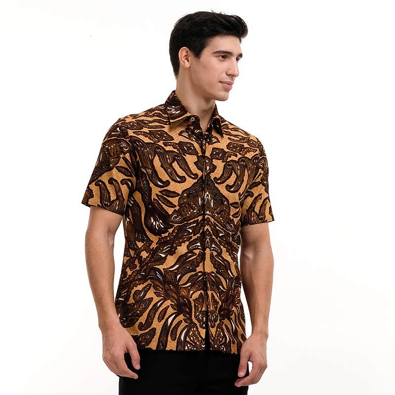 Batik Semar FrDb Reno Sasiring Shirt Brown