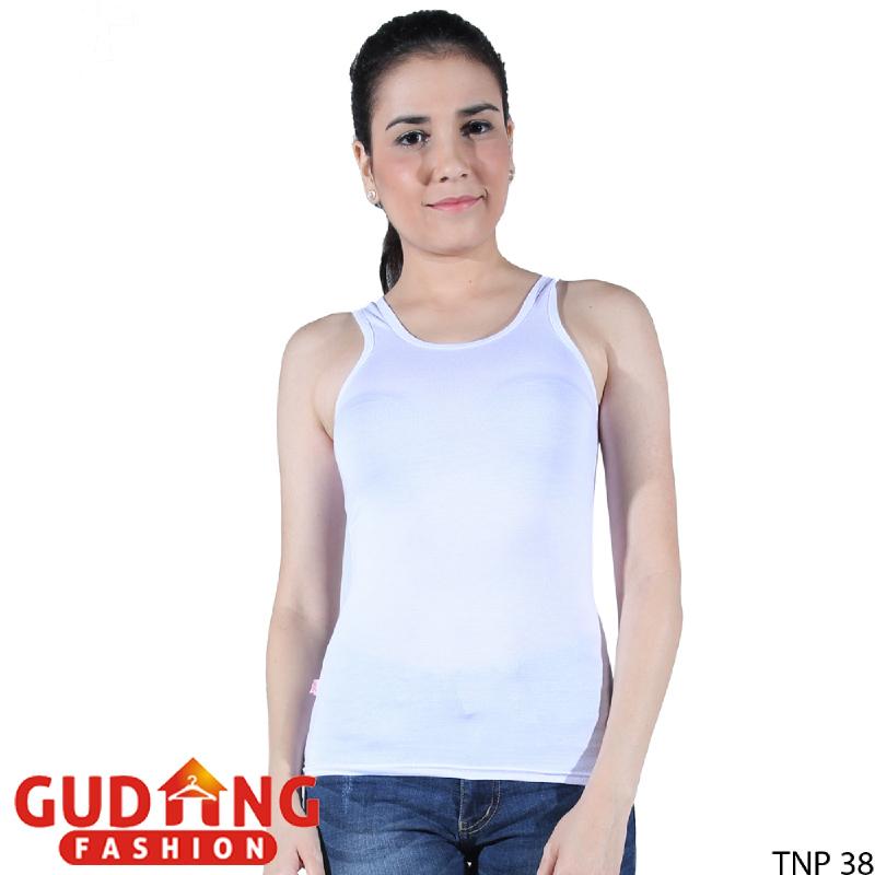 Gudang Fashion Tank Top Wanita Cantik - Putih TNP 38