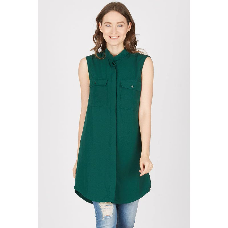 Elif Green Top