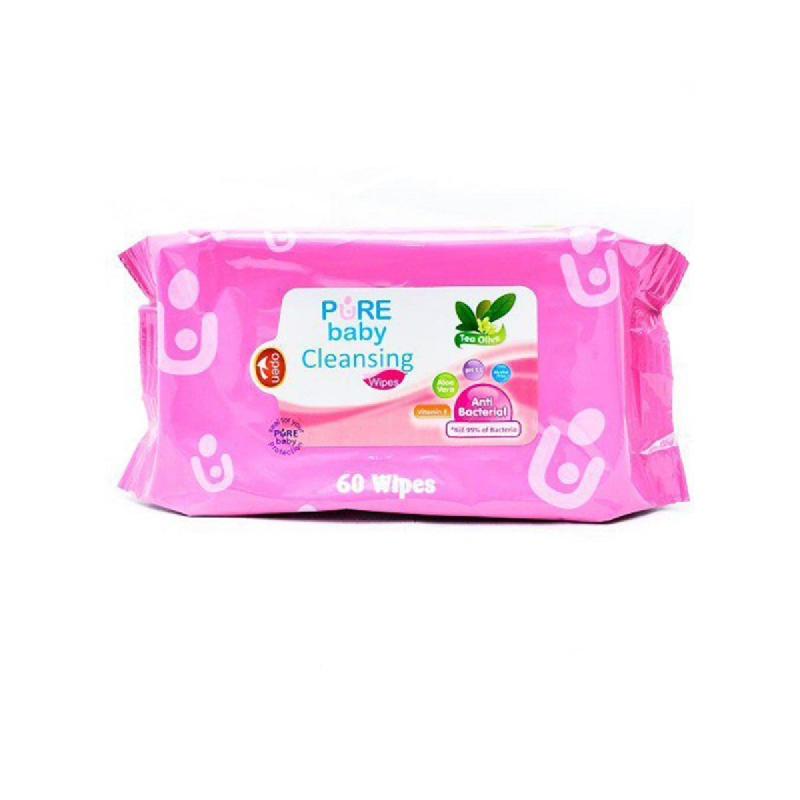 Pure Baby Tisu Pembersih Tea Olive 60 Sheet