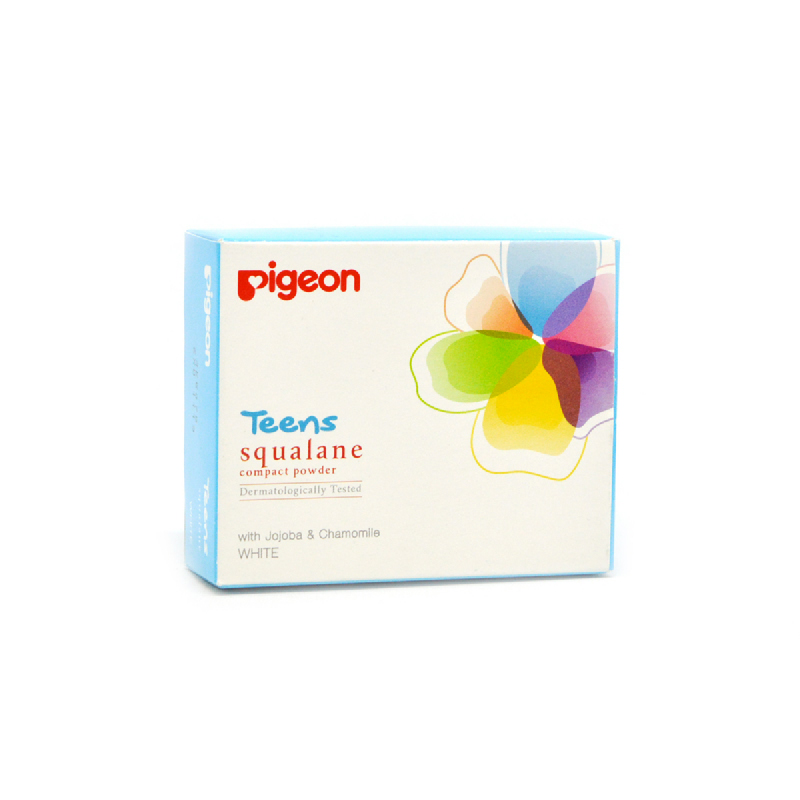 Pigeon Compact Squalan White 25 Gr