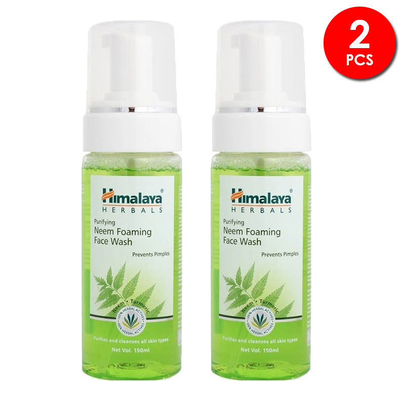 Himalaya Purifying Neem Foam Face Wash 150ml 2pcs