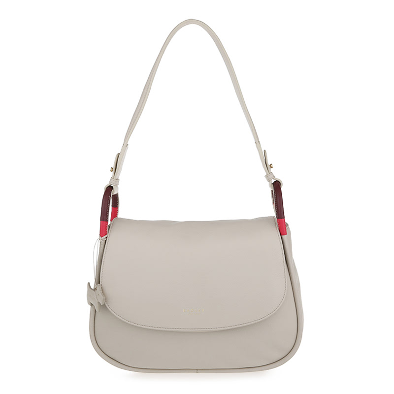 Radley Shoulder Bag Hyde Park Medium Flapover White