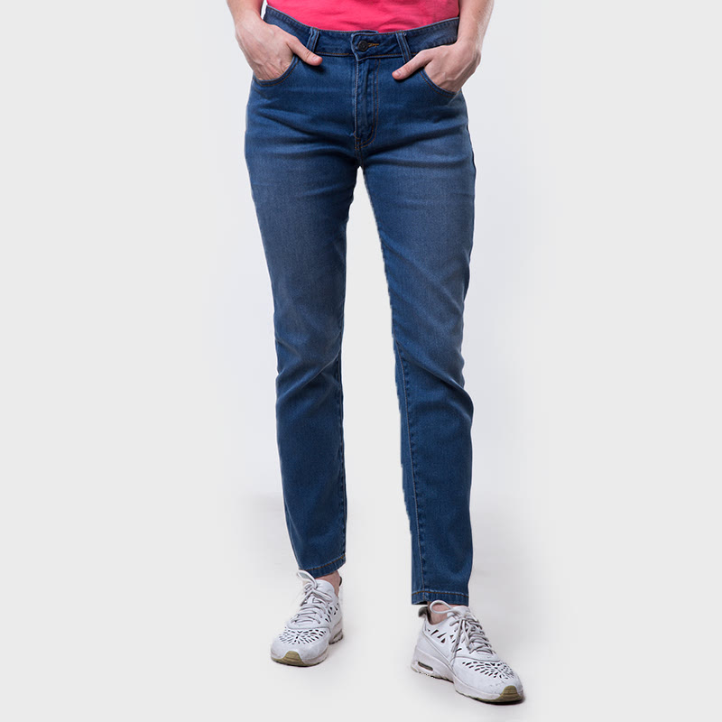 Carvil Sofie Denim Pants Bgblue Grey