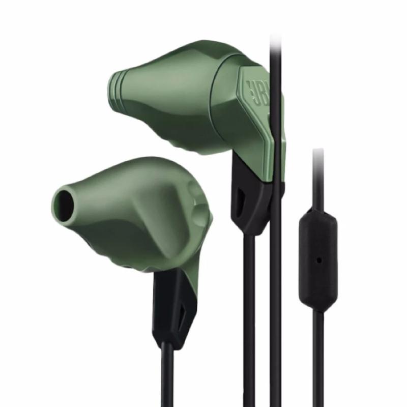 Action Sport Earphones Grip 100 - Olive