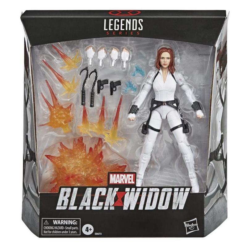 Avengers Black Widow Legends Series 6-inch Black Widow Action Figure - AVSE8673