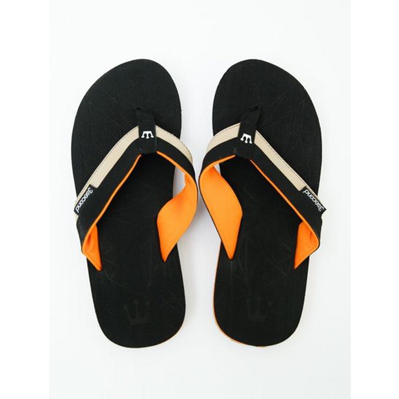 3Second Men Sandals 1305 Black