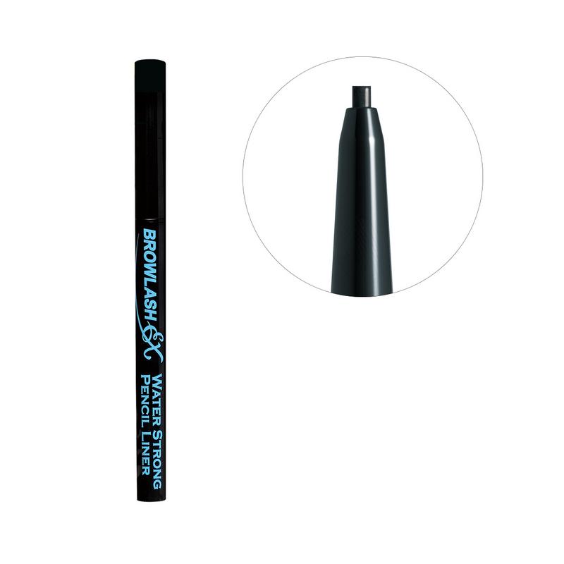 BCL 2mm Slim Gel Pencil Black Browlash Ex