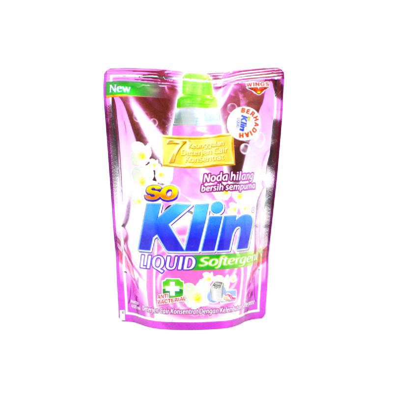 So Klin Liquid Softergent Pouch 400 Ml