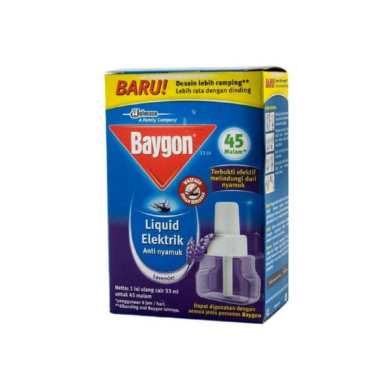 Baygon Electric Ref Lavender 45 Night [33ml]