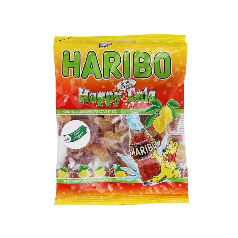 Haribo Happy Cola Sour Fresh 160G