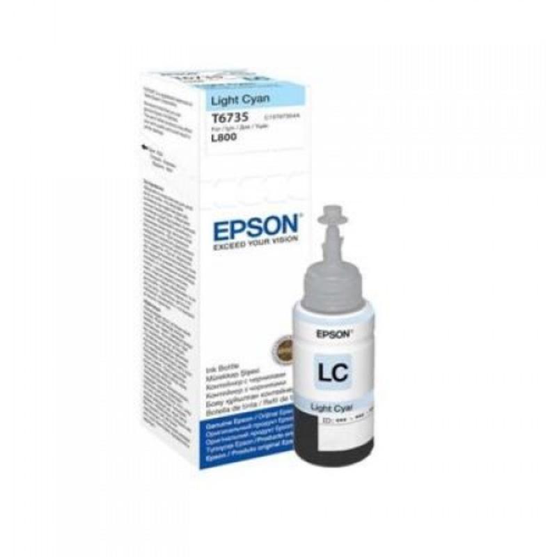 Epson LIGHT CYAN INK Cartridge  For L800,L850,L1800,L805