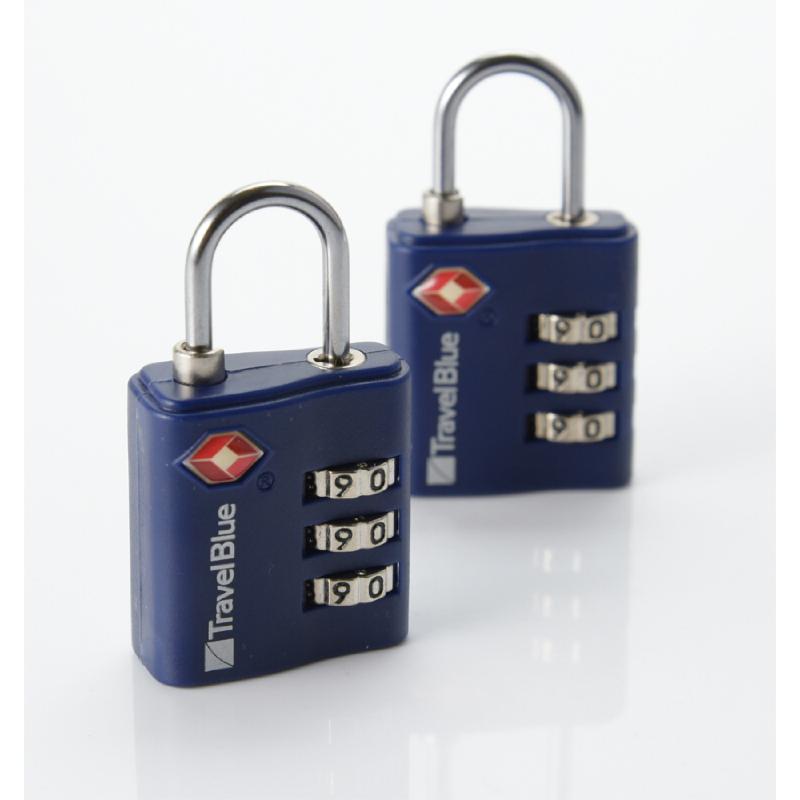 Travel Blue 038 Gembok Kombinasi 2x – Blue