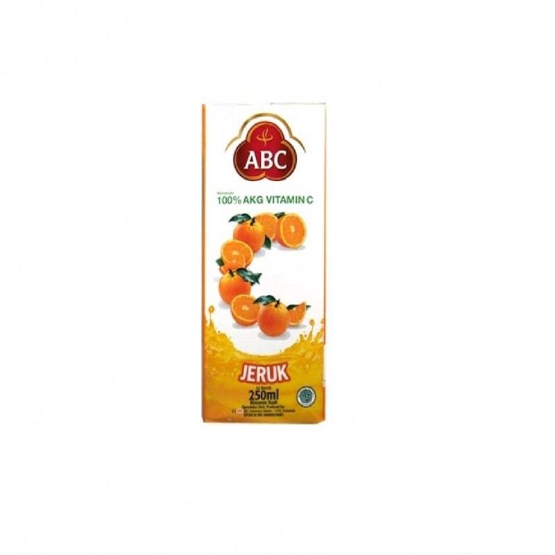 Abc Orange Jus250 Ml