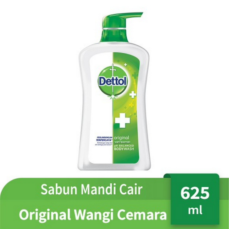 Dettol Bodywash Original Pump 625 ml