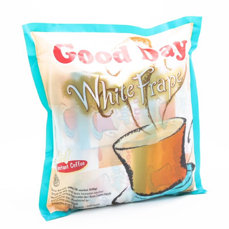 Good Day White Frape Bag 30x20gr