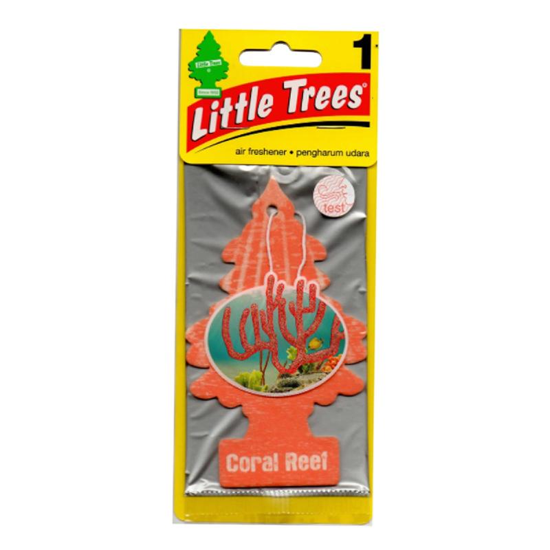 Little Trees Car Air Freshener Coral Reef