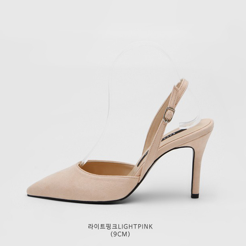 SAPPUN Agent Willie Stelliga Saturday Sling Back Heel (9cm) - Light Pink