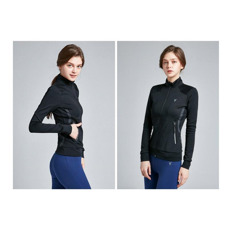 Akiii Classic Aj-0102 Color Line Training Zipper Series - Black