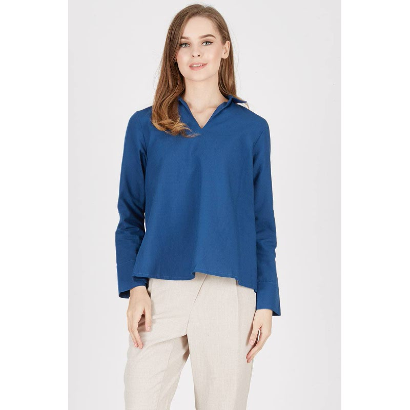 Maelle Shirt Blue