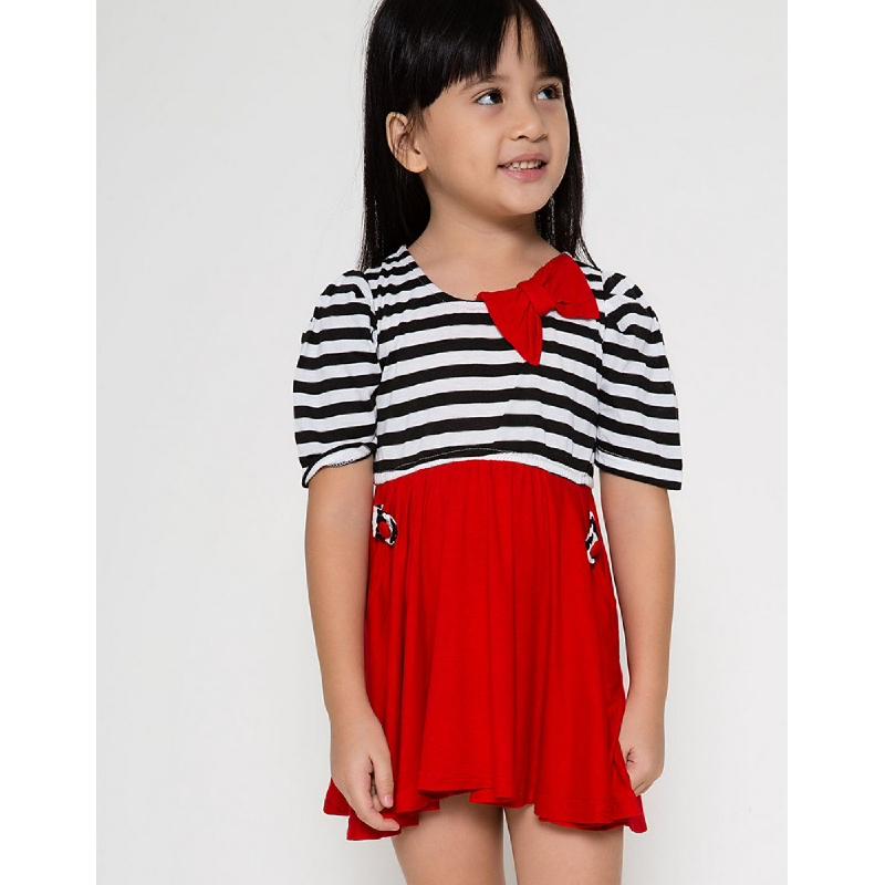 4 You Kaus Salur Dress Ungu