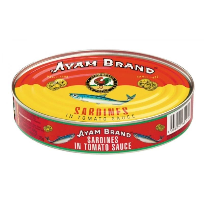 Ayam Brand  Sarden Tomato Oval 425 Gram