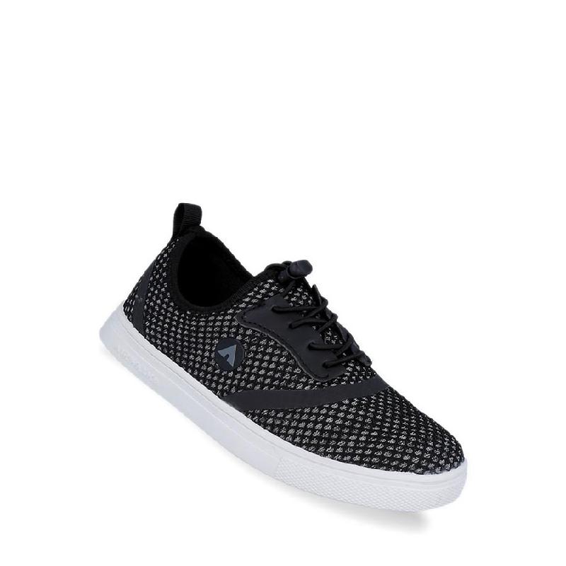 Airwalk Louis Jr Boys Sneakers Shoes Black