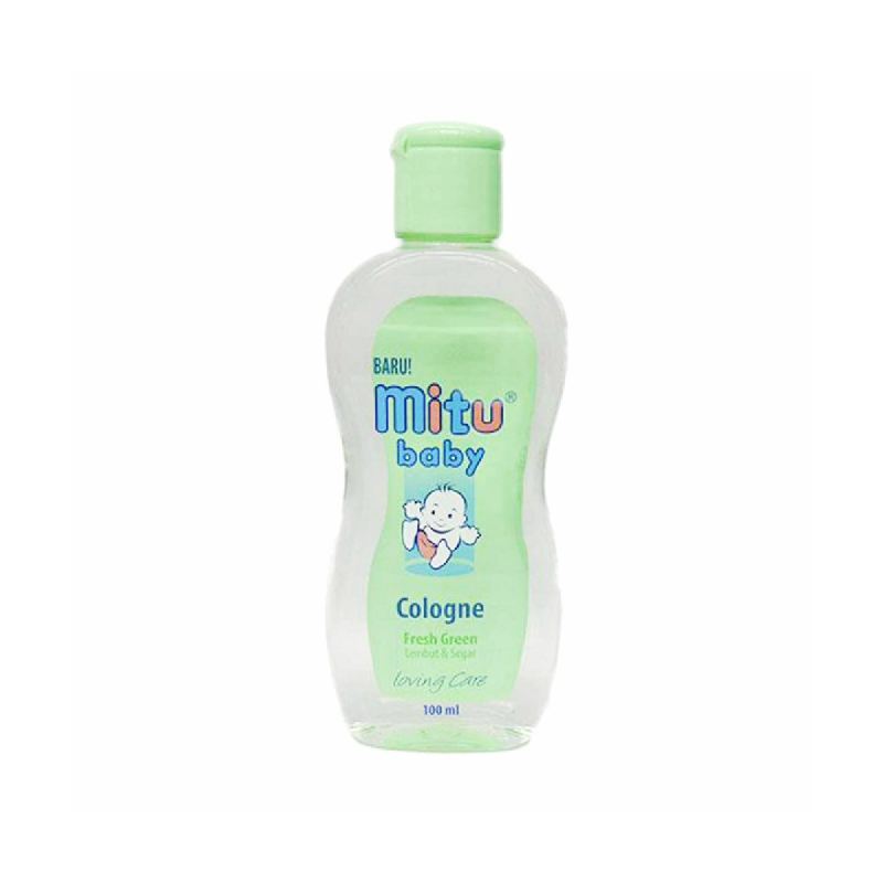 Mitu Baby Cologne Fresh Green Botol 100 Ml