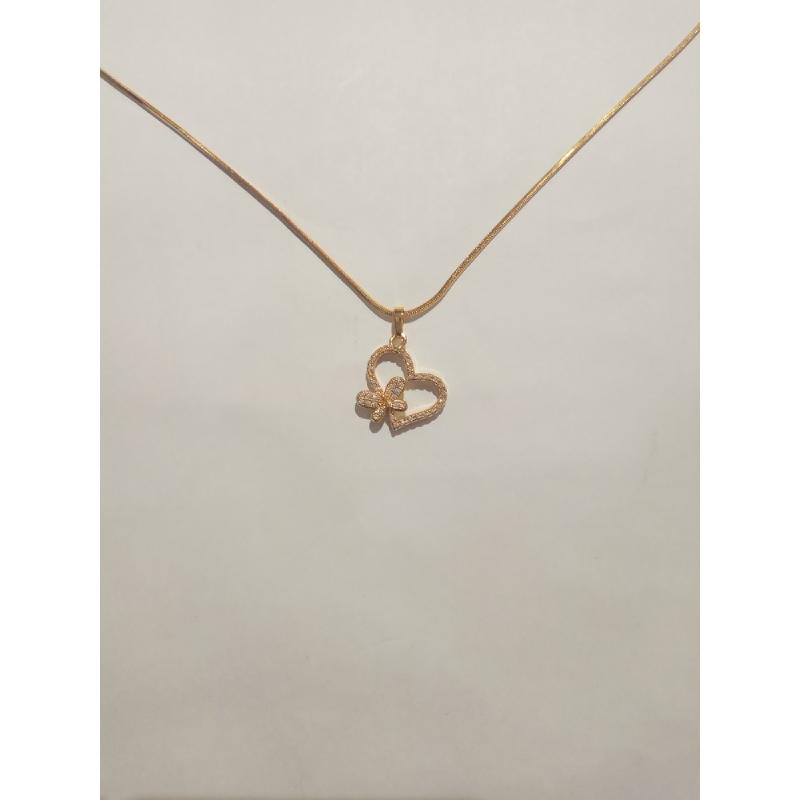 Ballin - Women Necklace FF N0054G Gold