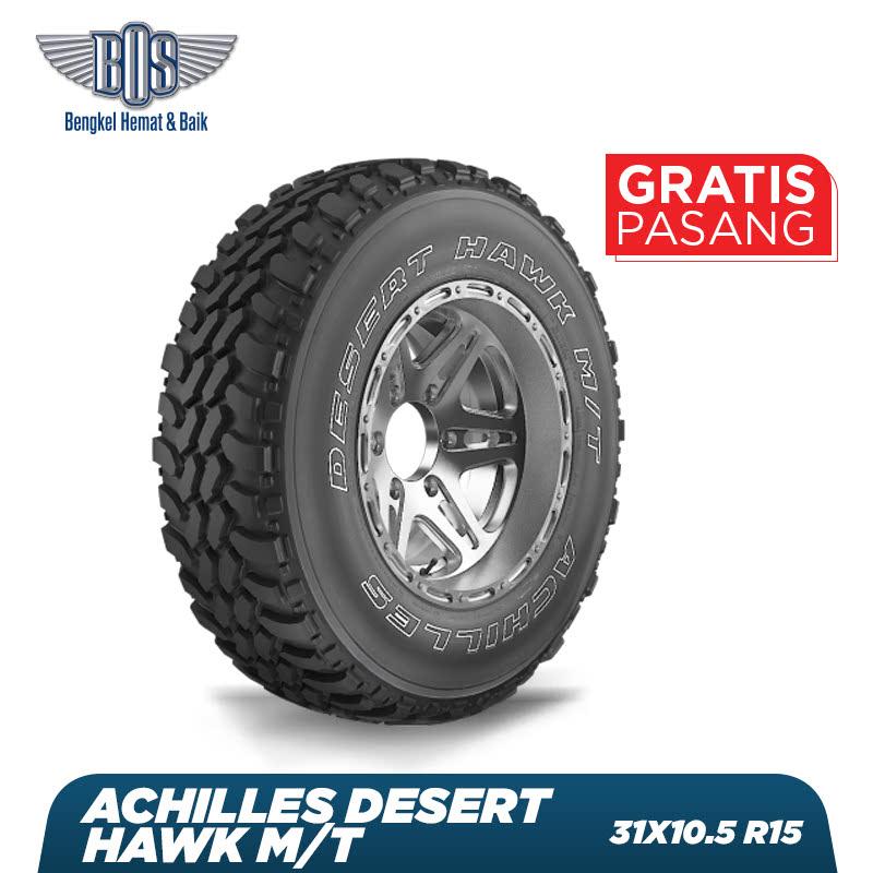 Achilles Ban Mobil Desert Hawk M-T - 31X10.50 R15 6PR LT 109Q - GRATIS JASA PASANG DAN BALANCING