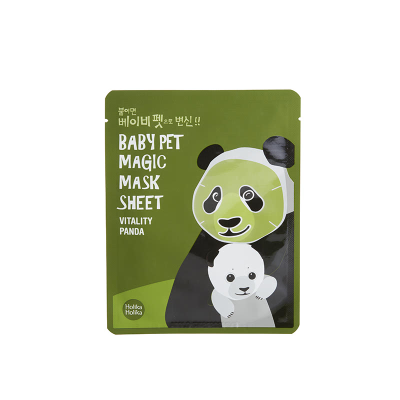 Holika Holika Baby Pet Magic Mask Sheet Vitality Panda