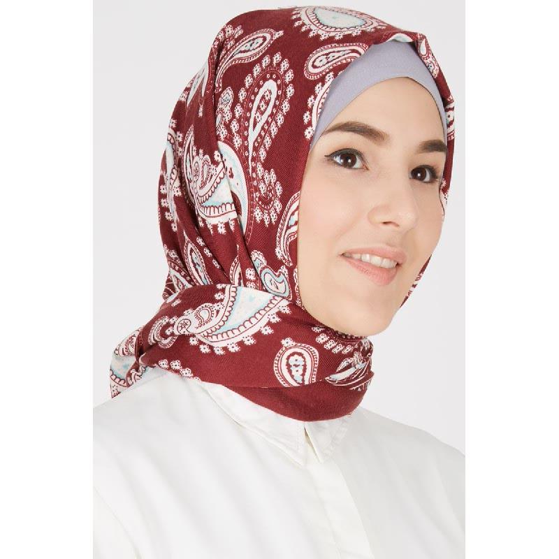 Abeera Pashmina Red