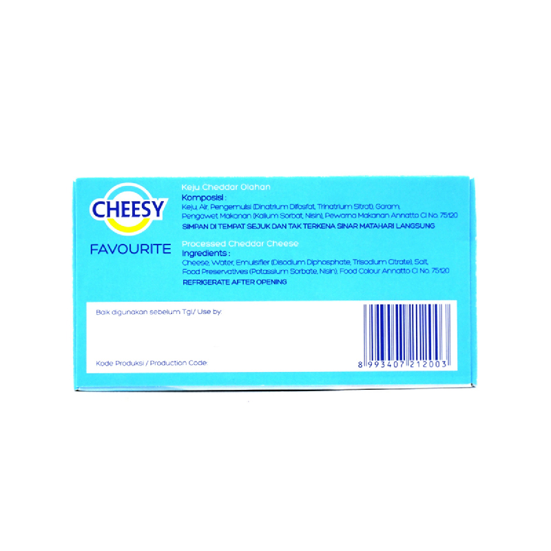 Cheesy Proc. Cheese 180Gr