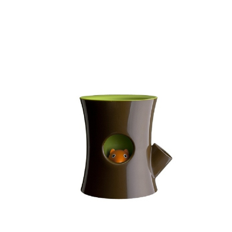 Highpoint Qualy Log And Squirrel (Plant Pot) QL10075BNGN